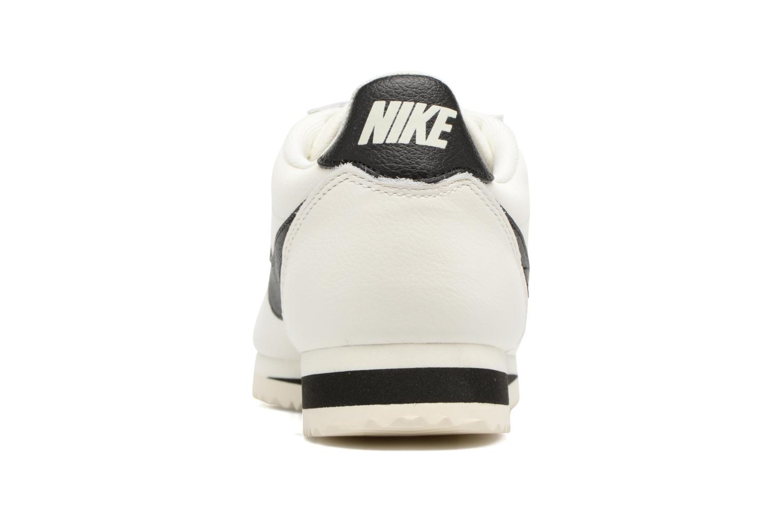 Baskets Nike Classic Cortez Leather Se Blanc vue droite