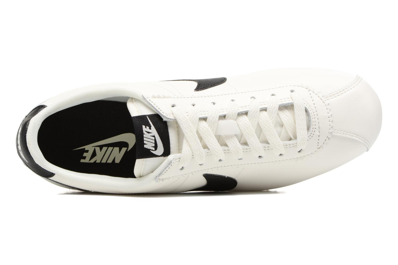 Baskets Nike Classic Cortez Leather Se Blanc vue gauche