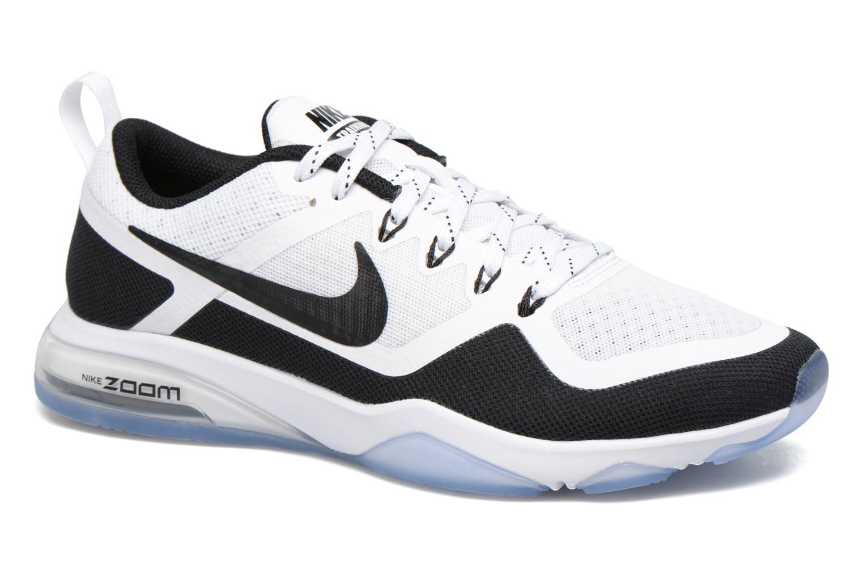 Sportssko Nike Wmns Nike Air Zoom Fitness Sort detaljeret billede af skoene