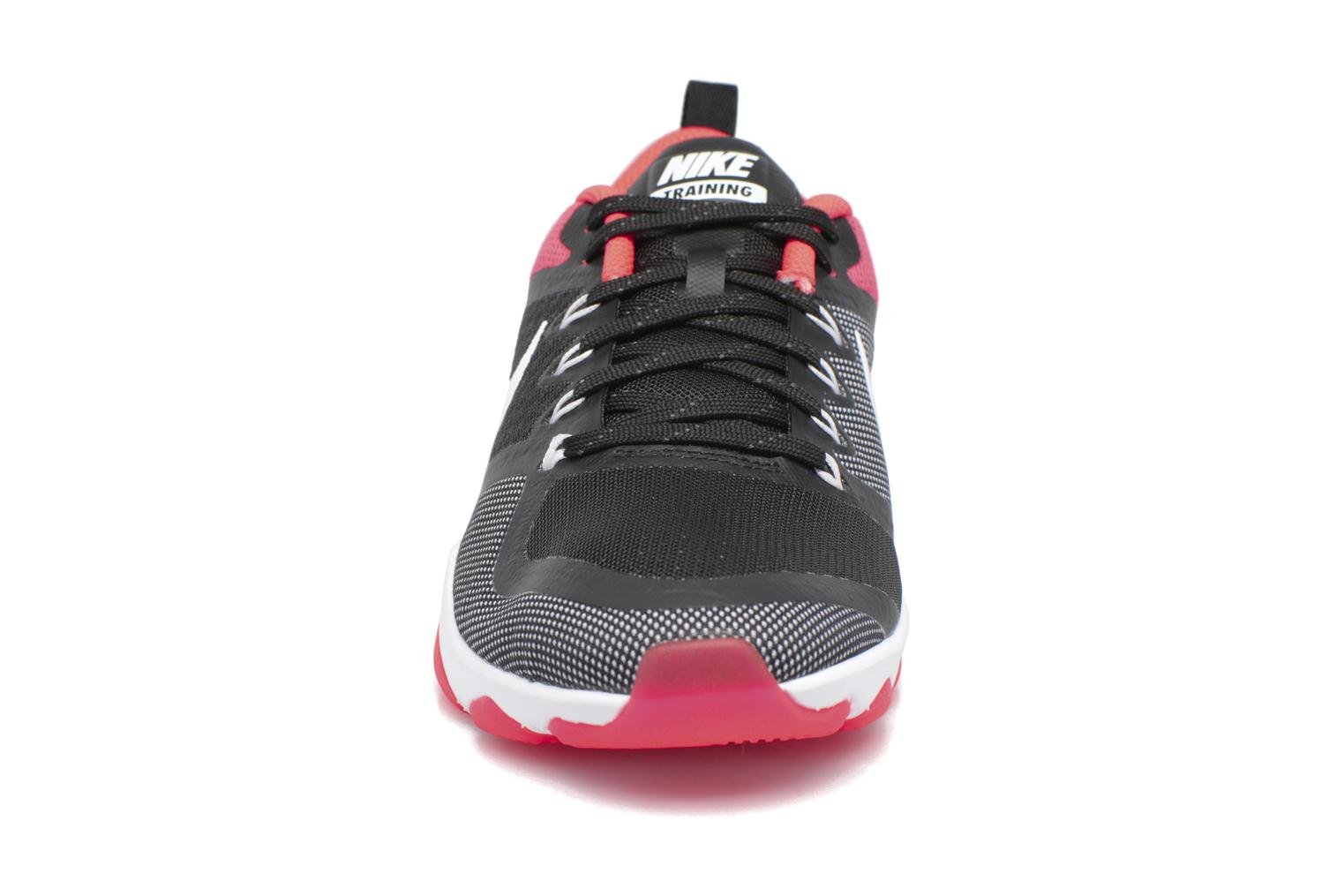 Wmns Nike Air Zoom Fitness Black/White-Solar Red