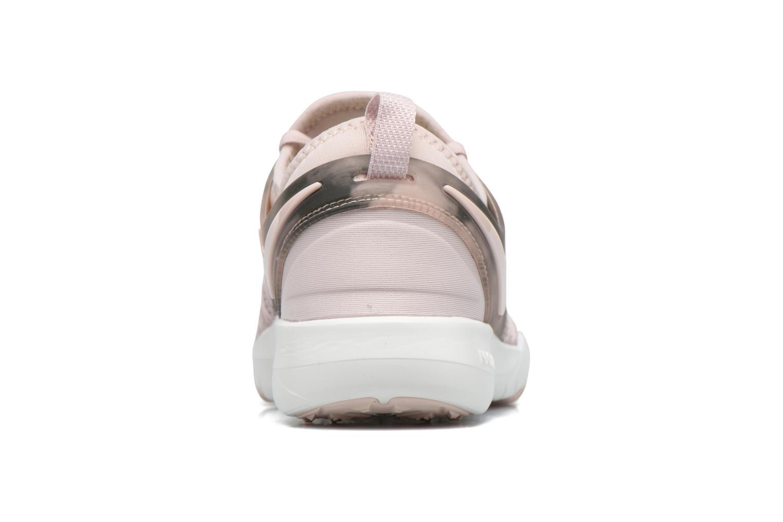 Sportskor Nike Wmns Nike Free Tr 7 Amp Rosa Bild från höger sidan