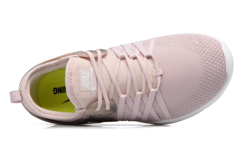 Sportskor Nike Wmns Nike Free Tr 7 Amp Rosa bild från vänster sidan