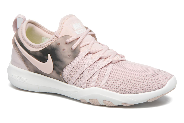 Sportskor Nike Wmns Nike Free Tr 7 Amp Rosa detaljerad bild på paret