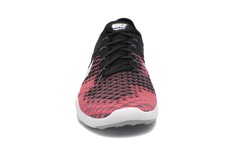 Sportschuhe Nike Wmns Nike Free Tr Flyknit 2 schwarz schuhe getragen