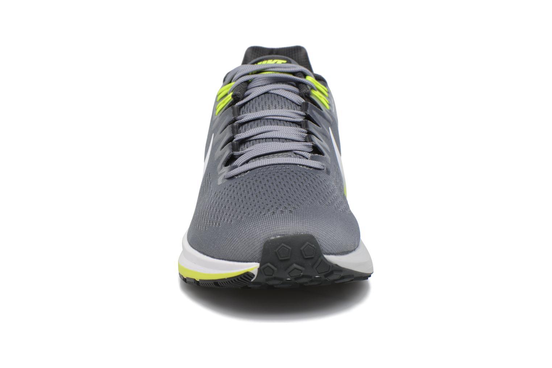 Chaussures de sport Nike Nike Air Zoom Structure 21 Gris vue portées chaussures