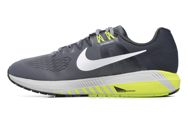 Chaussures de sport Nike Nike Air Zoom Structure 21 Gris vue face