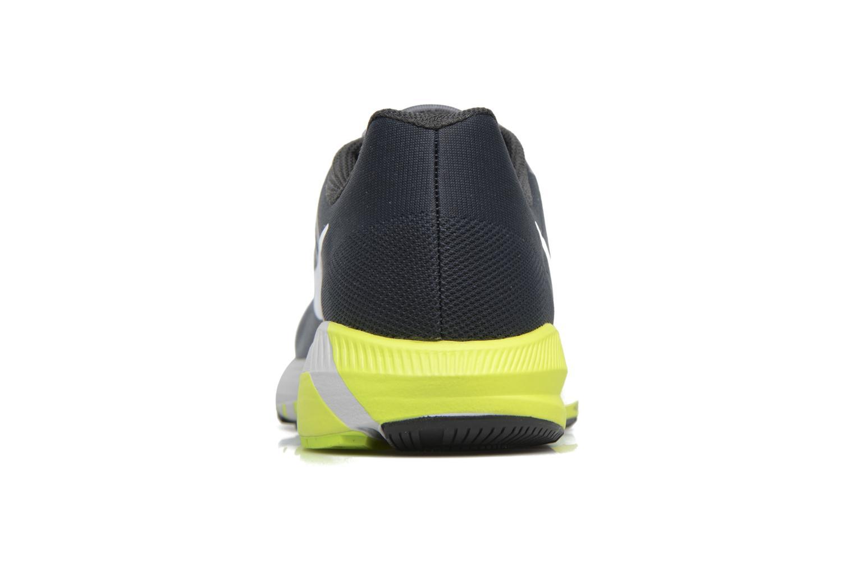 Chaussures de sport Nike Nike Air Zoom Structure 21 Gris vue droite