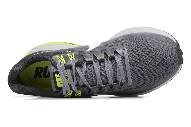 Chaussures de sport Nike Nike Air Zoom Structure 21 Gris vue gauche