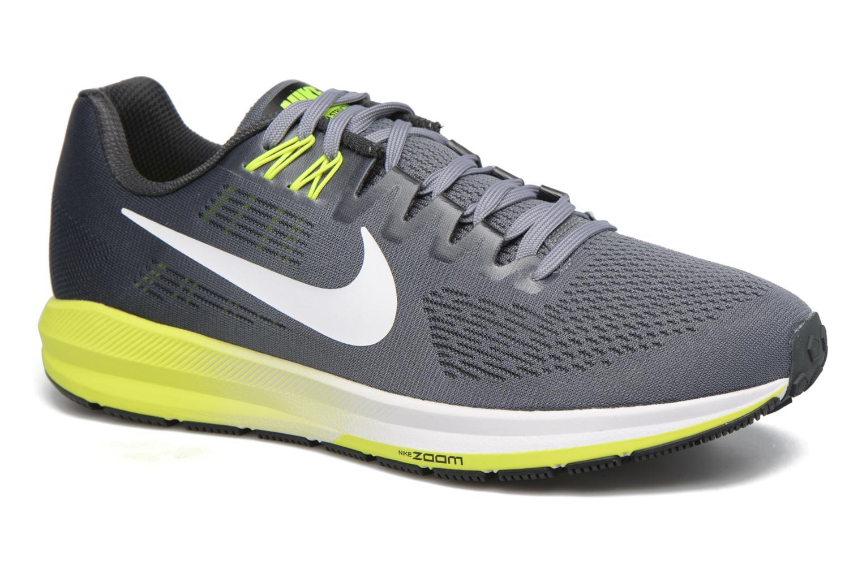 Chaussures de sport Nike Nike Air Zoom Structure 21 Gris vue détail/paire