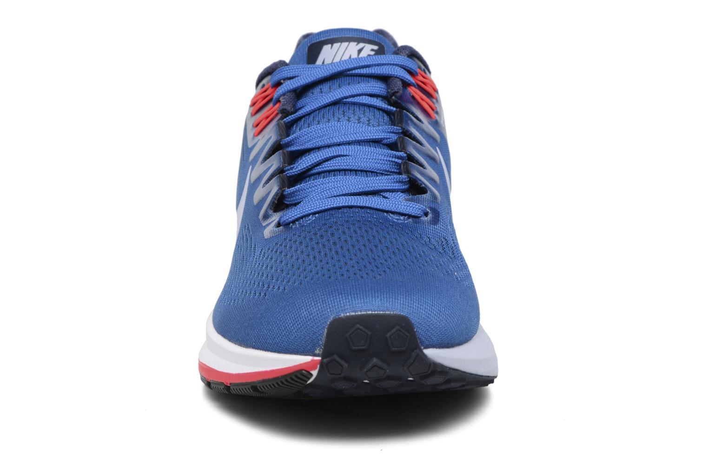Chaussures de sport Nike Nike Air Zoom Structure 21 Bleu vue portées chaussures