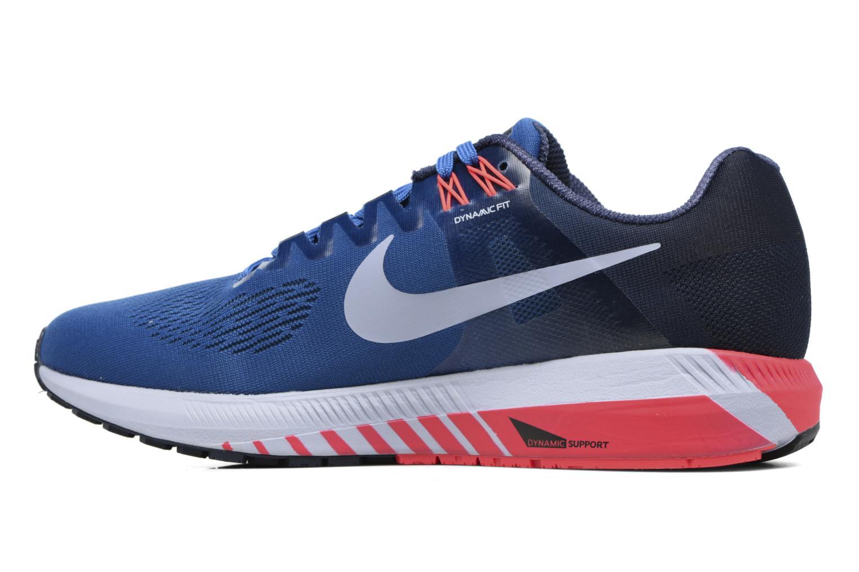 Chaussures de sport Nike Nike Air Zoom Structure 21 Bleu vue face