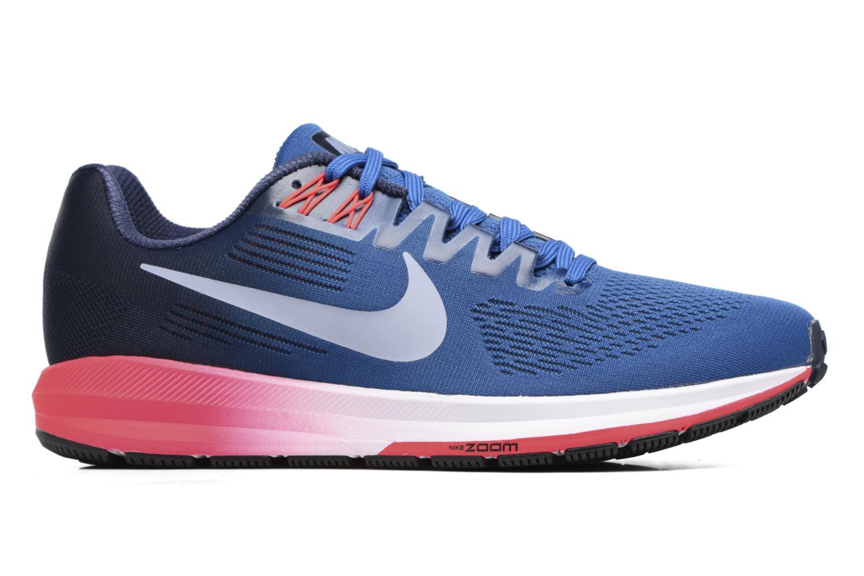 Nike Air Zoom Structure 21 Blue JayGlacier Grey-Obsidian-Solar Red