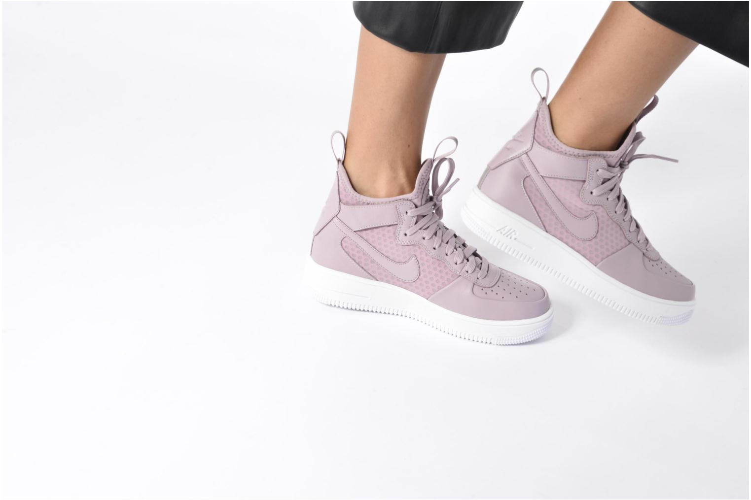 W Air Force 1 Ultraforce Mid Plum Fog/Plum Fog-Black-White