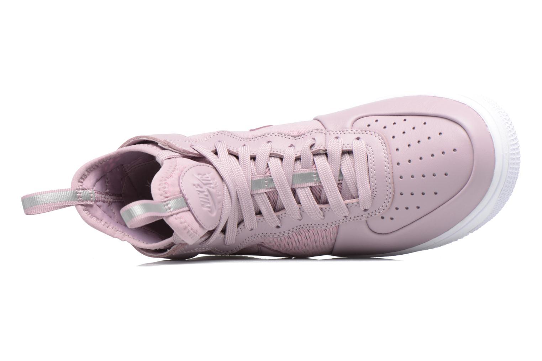 Baskets Nike W Air Force 1 Ultraforce Mid Violet vue gauche