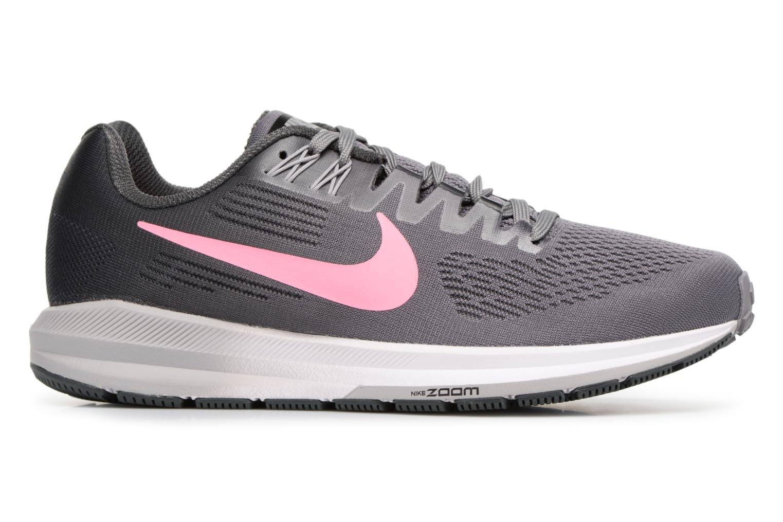 Chaussures de sport Nike W Nike Air Zoom Structure 21 Gris vue derrière