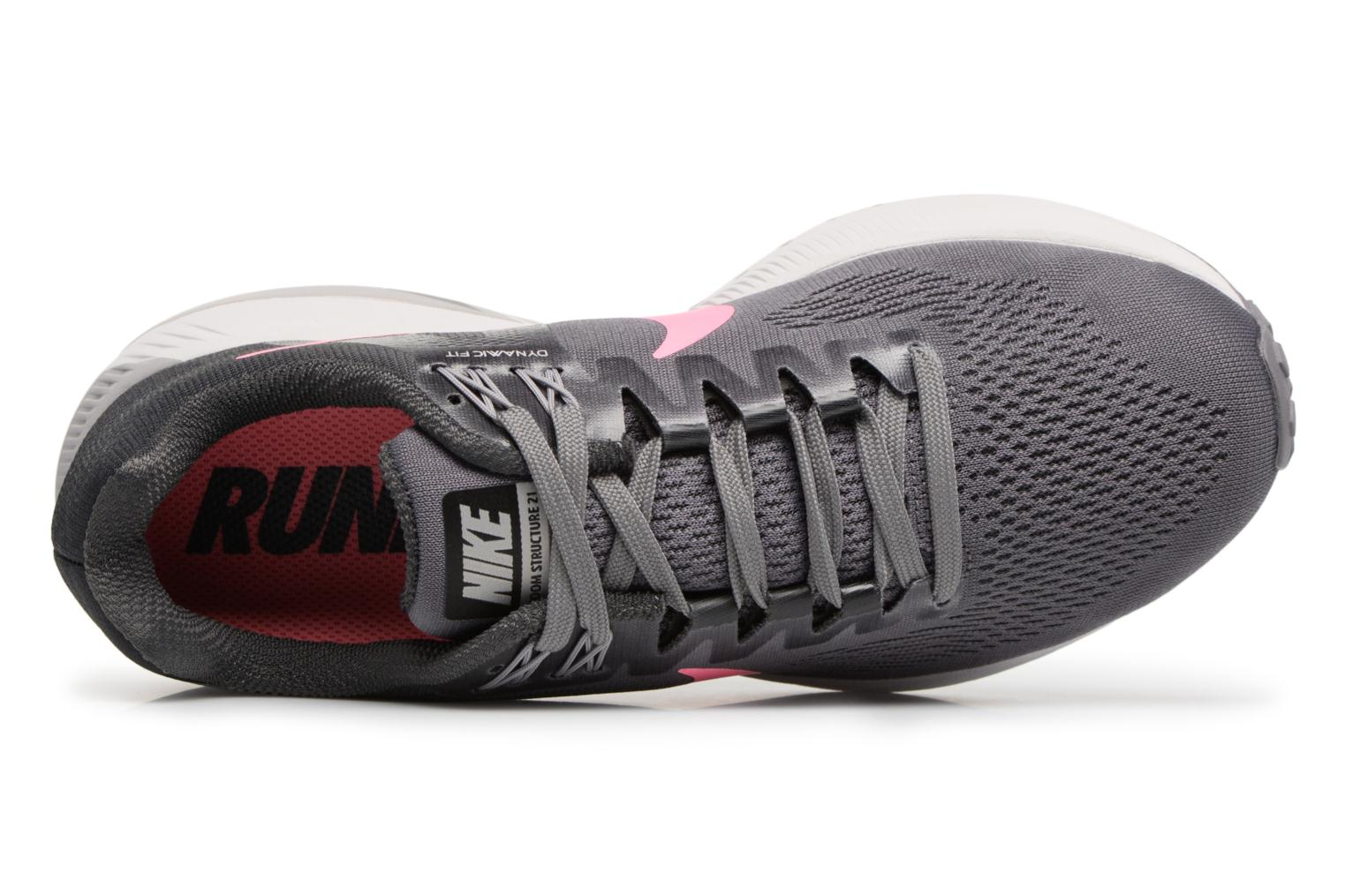 W Nike Air Zoom Structure 21 Gunsmoke/Sunset Pulse-Anthracite