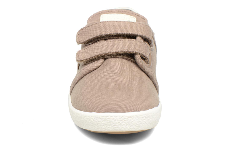Baskets Faguo Cypress Velcro Marron vue portées chaussures