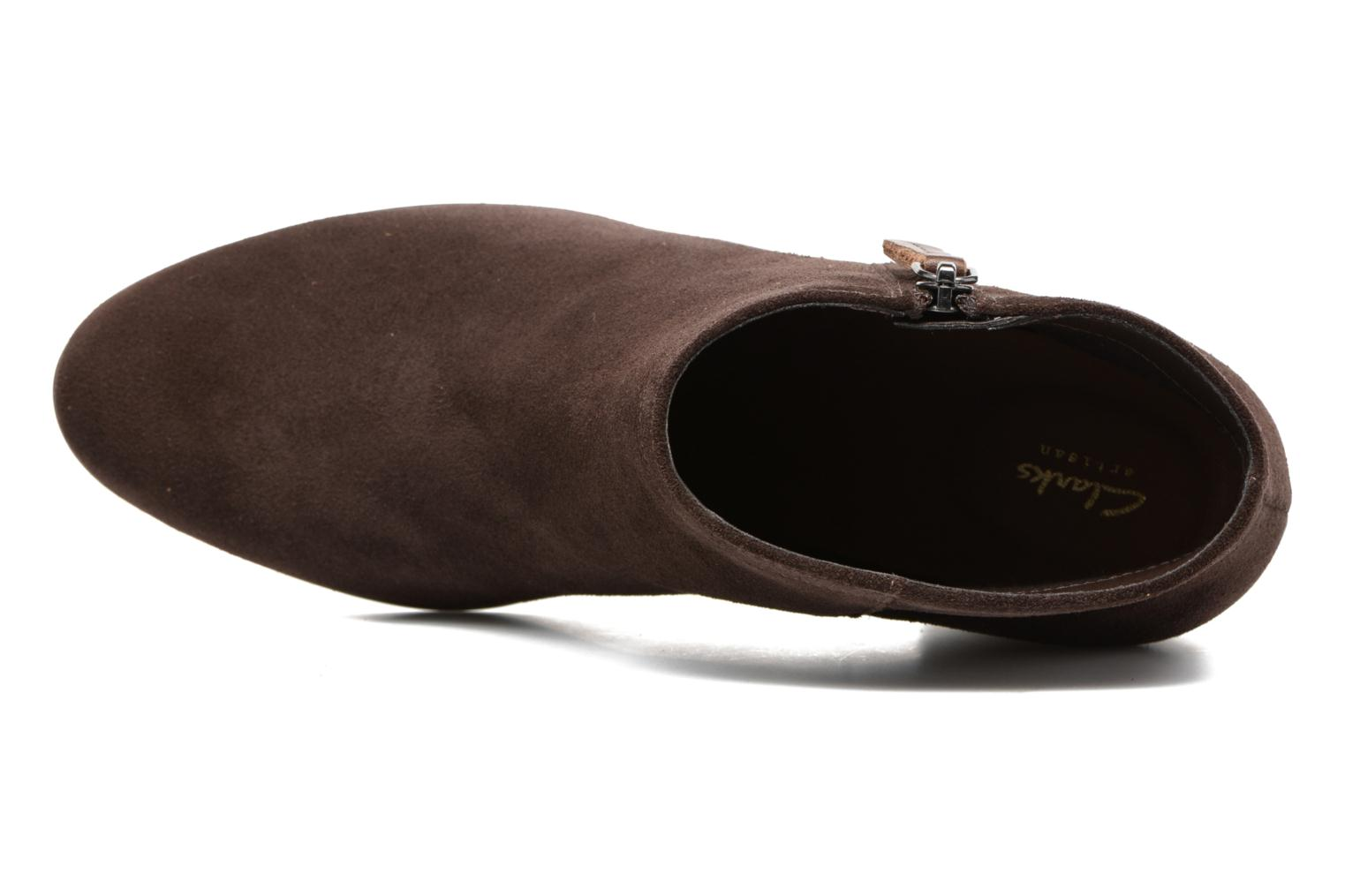 Maypearl Alice Dark Brown Suede