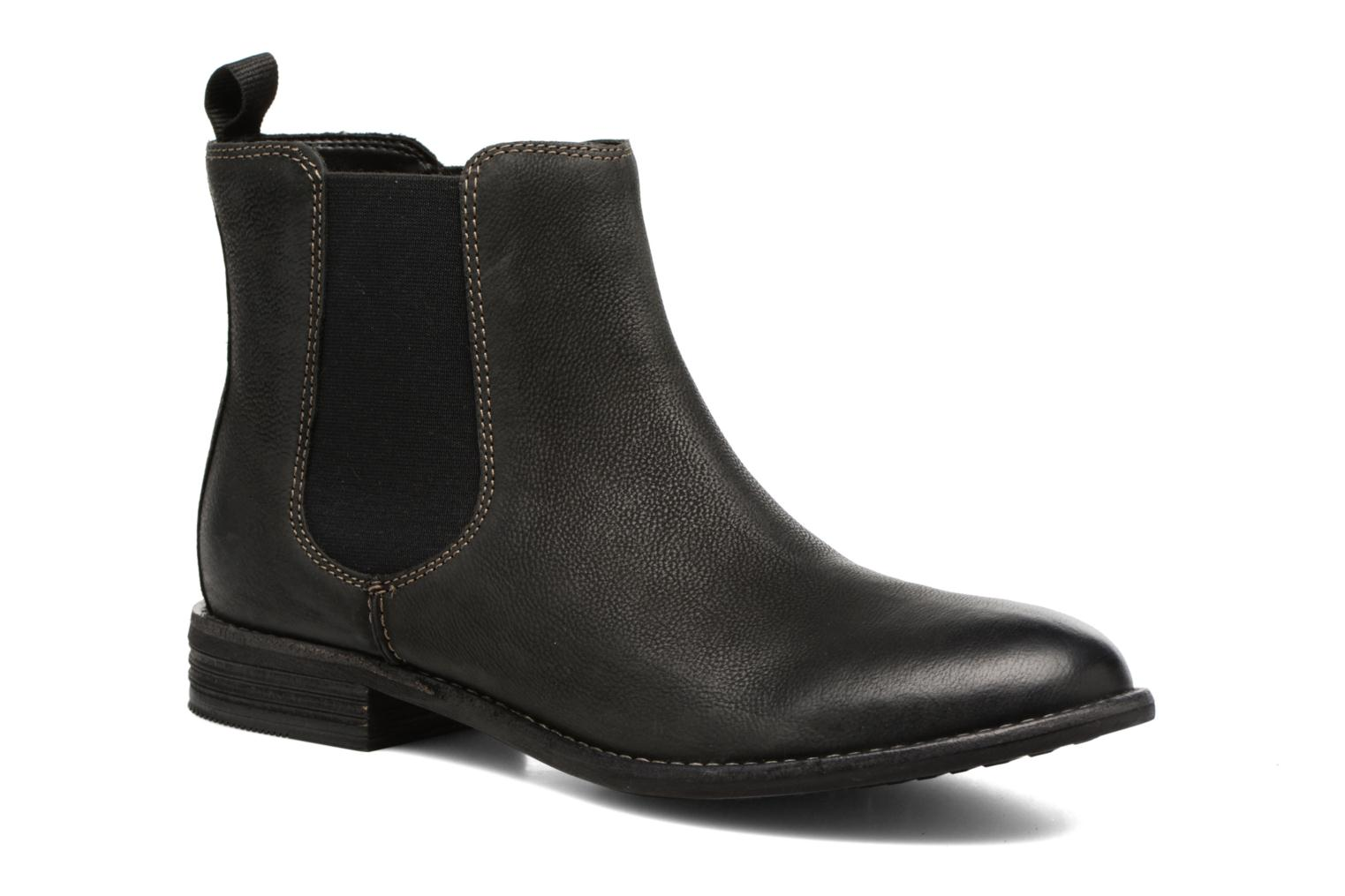 Ankle boots Clarks Maypearl Nala Black detailed view/ Pair view