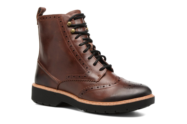Grandes descuentos últimos zapatos Clarks Witcombe Flo (Marrón) - Botines  en Más cómodo