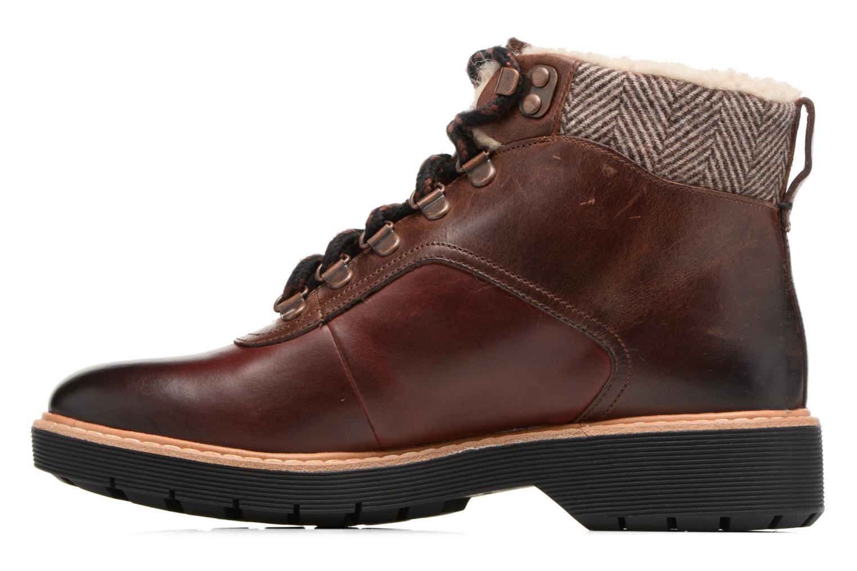 Bottines et boots Clarks Witcombe Rock Marron vue face