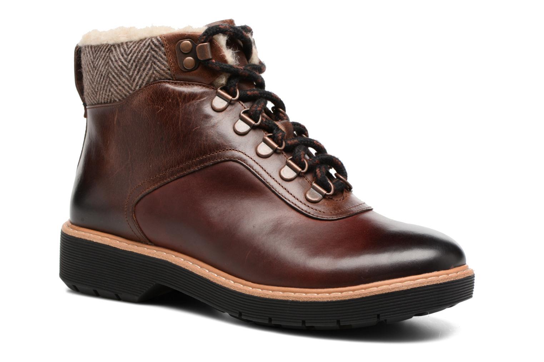Bottines et boots Clarks Witcombe Rock Marron vue détail/paire