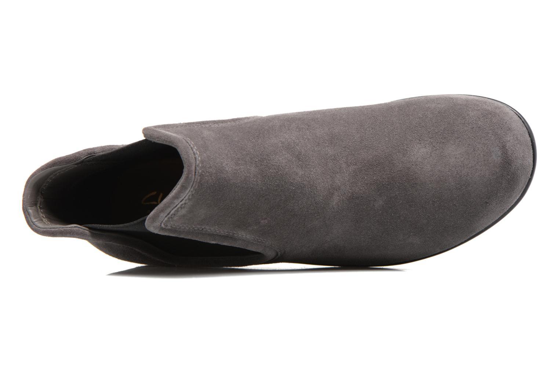 Boots en enkellaarsjes Clarks Wynnmere Mara Grijs links