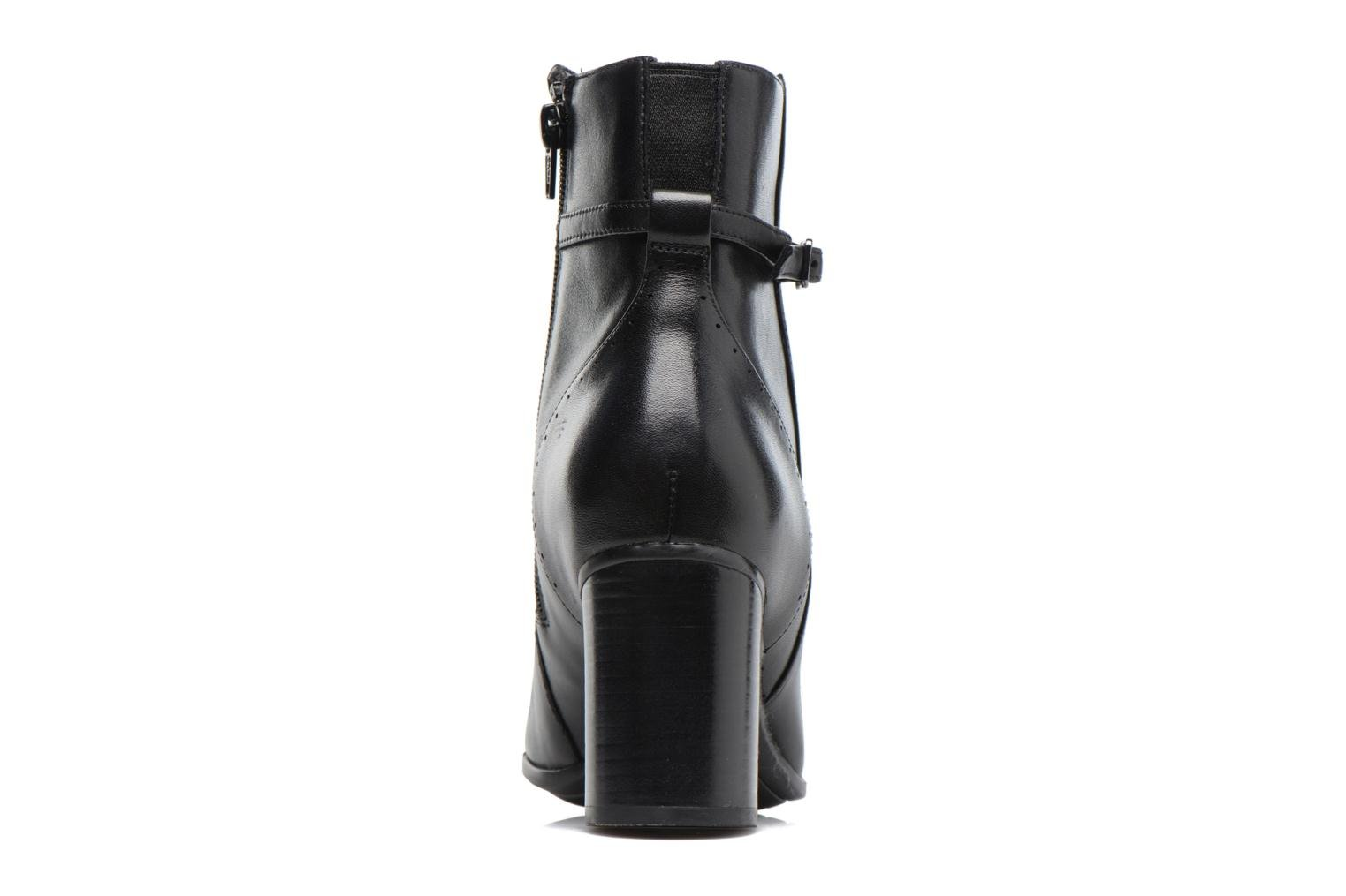 Kensett Diana Black leather