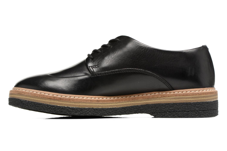 Chaussures à lacets Clarks Zante Zara Noir vue face