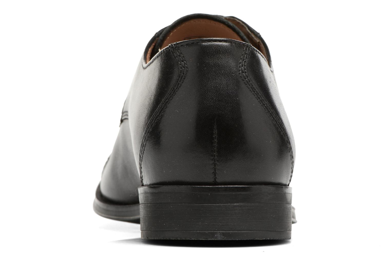Chaussures à lacets Clarks Gilman Cap Noir vue droite