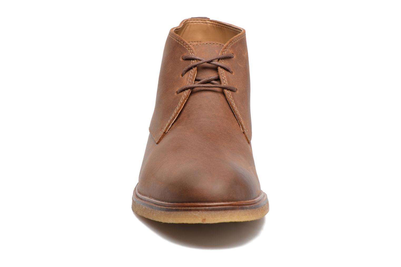 Chaussures à lacets Clarks Clarkdale Bara Marron vue portées chaussures