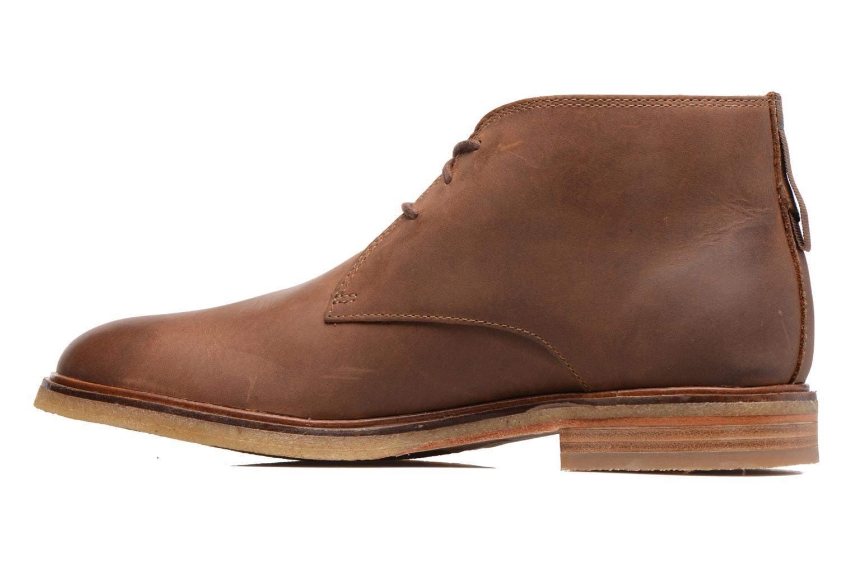 Chaussures à lacets Clarks Clarkdale Bara Marron vue face