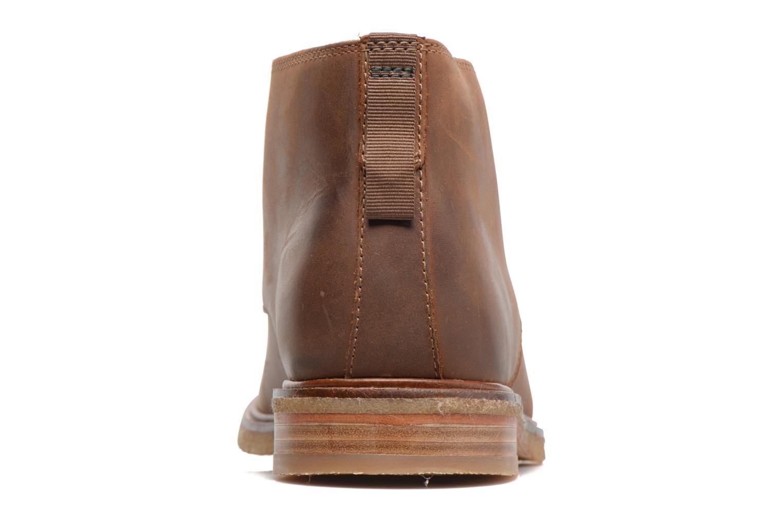 Chaussures à lacets Clarks Clarkdale Bara Marron vue droite