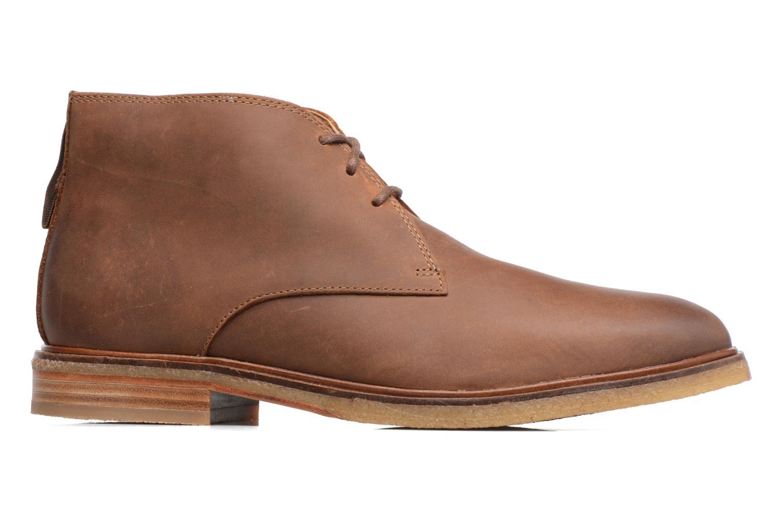 Chaussures à lacets Clarks Clarkdale Bara Marron vue derrière