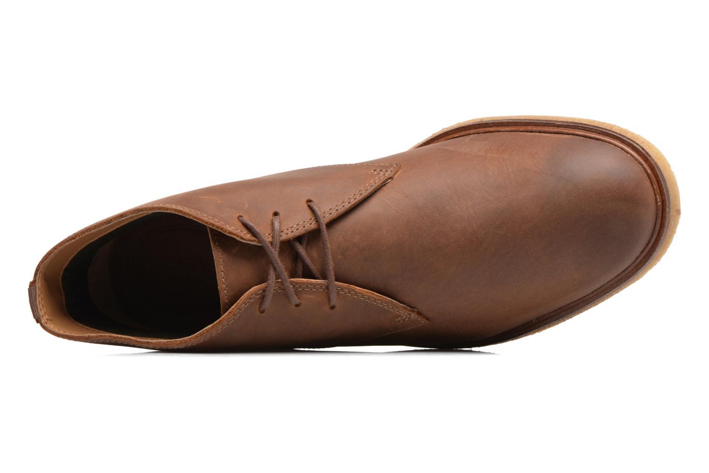 Chaussures à lacets Clarks Clarkdale Bara Marron vue gauche