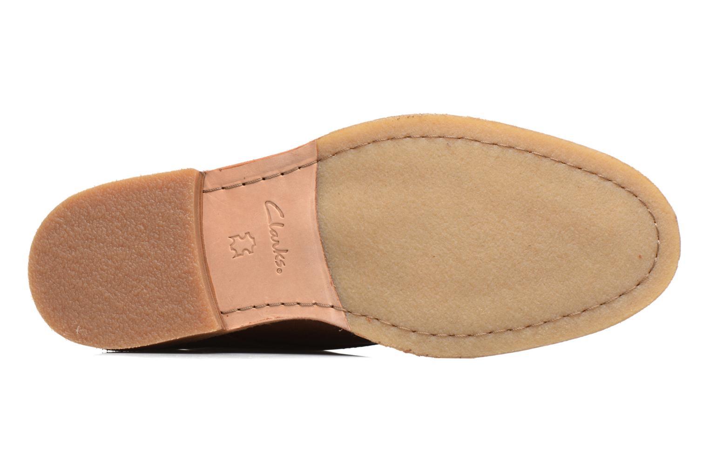 Chaussures à lacets Clarks Clarkdale Bara Marron vue haut