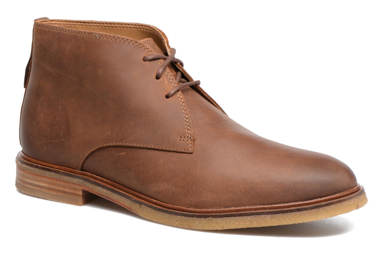 Chaussures à lacets Clarks Clarkdale Bara Marron vue détail/paire