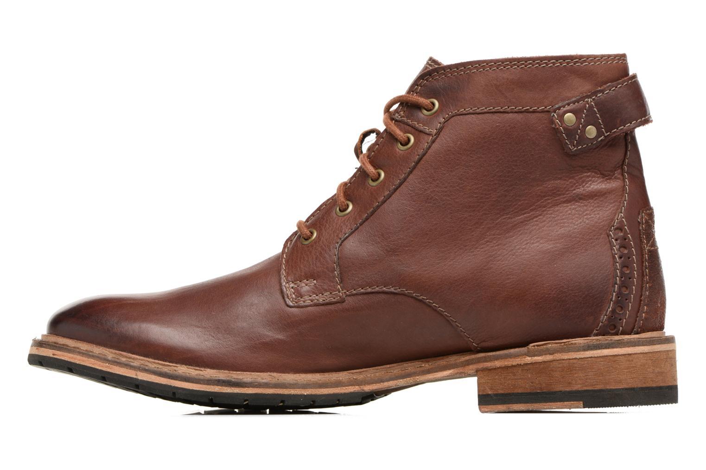 Bottines et boots Clarks Clarkdale Bud Marron vue face