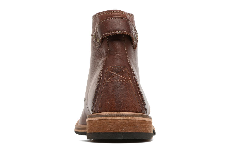 Bottines et boots Clarks Clarkdale Bud Marron vue droite