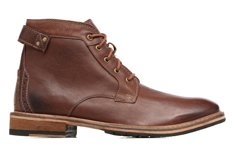 Bottines et boots Clarks Clarkdale Bud Marron vue derrière
