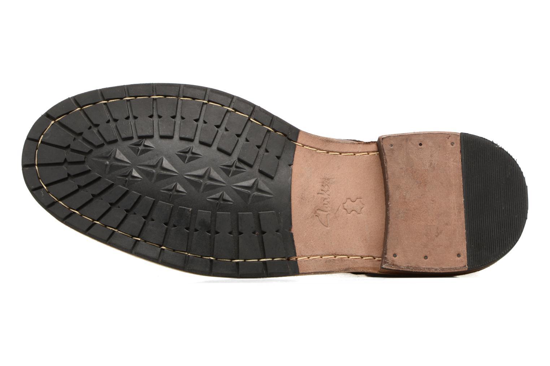 Bottines et boots Clarks Clarkdale Bud Marron vue haut