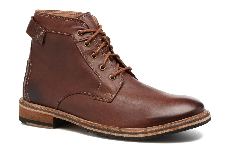 Bottines et boots Clarks Clarkdale Bud Marron vue détail/paire