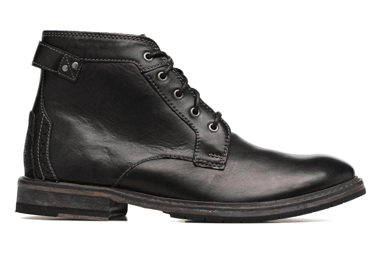 Clarkdale Bud Black leather