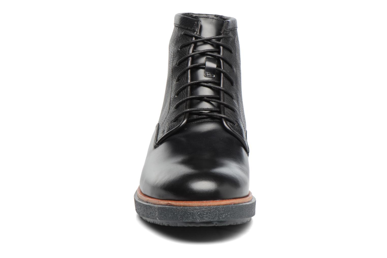 Modur Hi Black leather