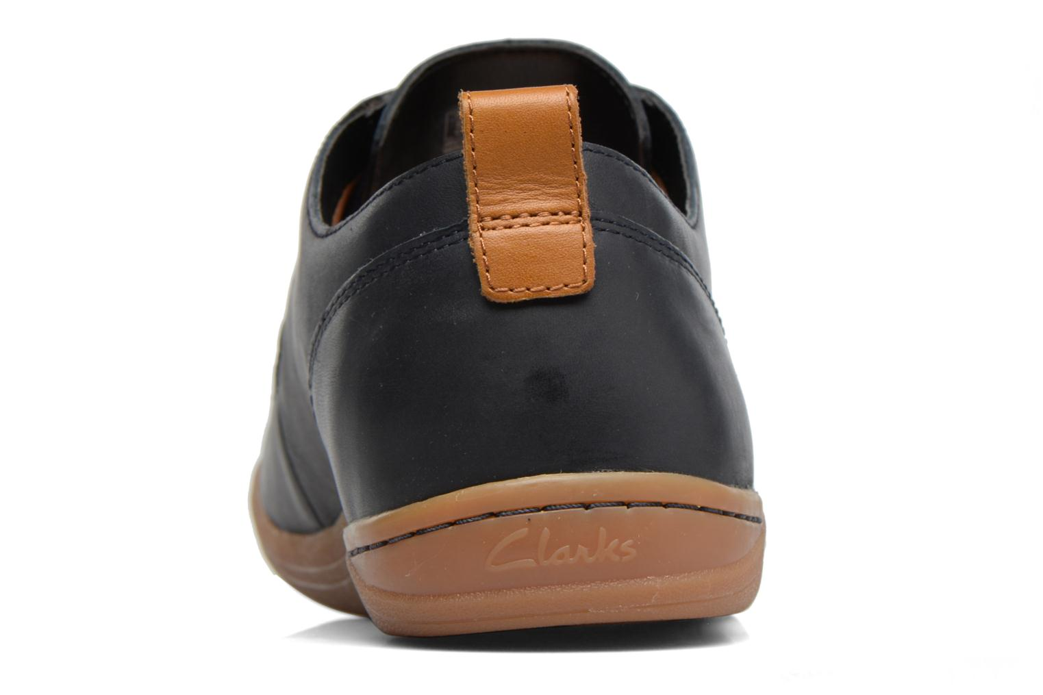 Mapped Lo Navy leather