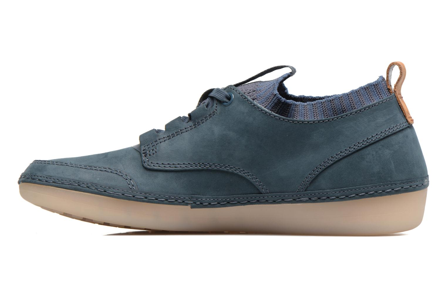 Black leather Clarks Nature IV. (Noir)