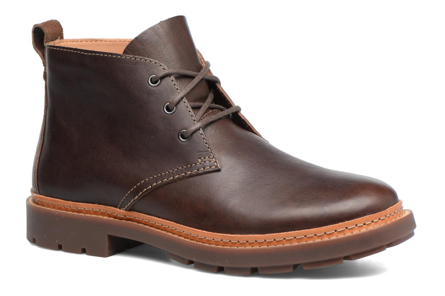 Clarks TRACE FLARE - Bottines à lacets marron clair SUTYjYZ71d