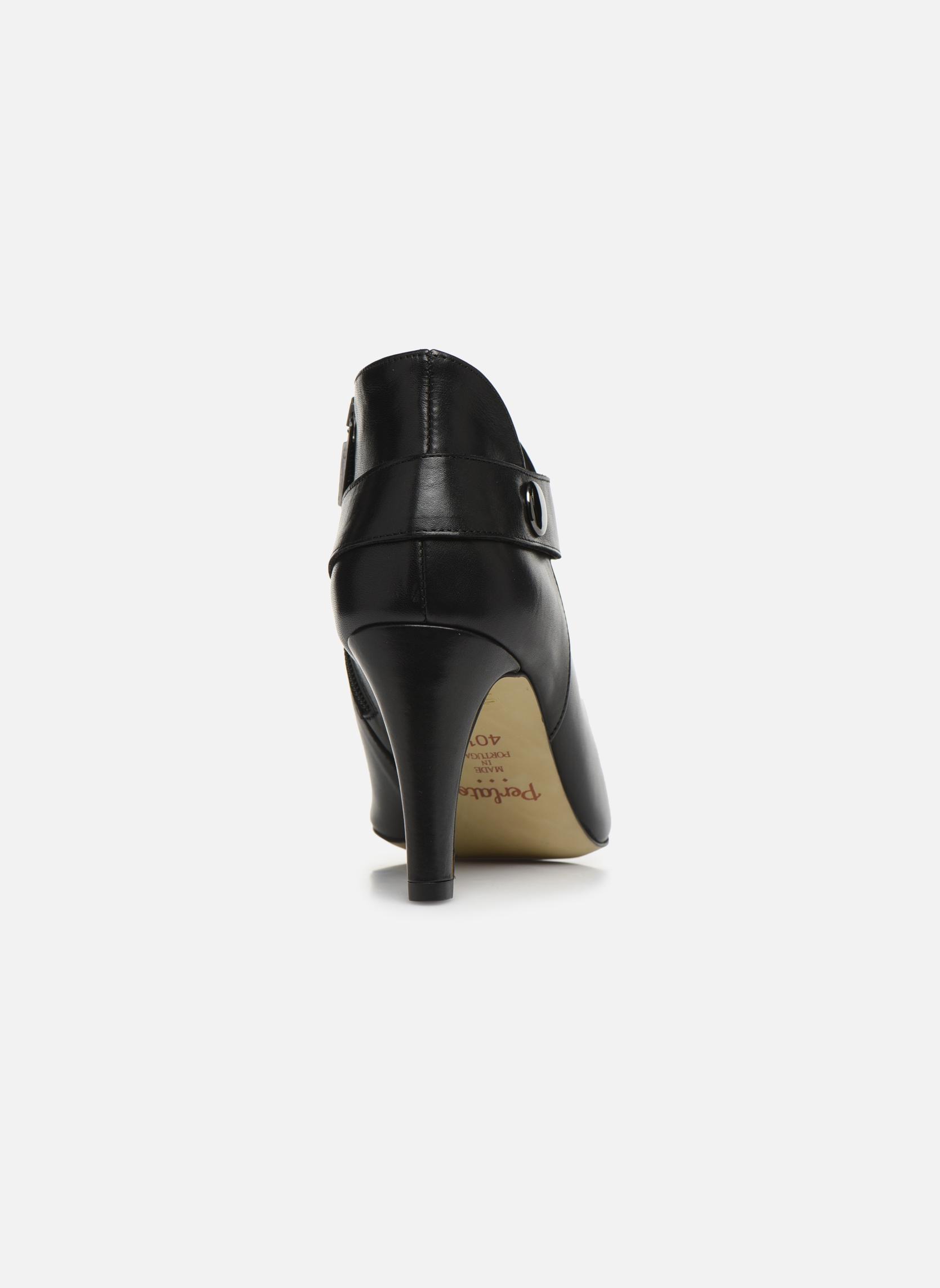 Bottines et boots Perlato Edel Noir vue droite