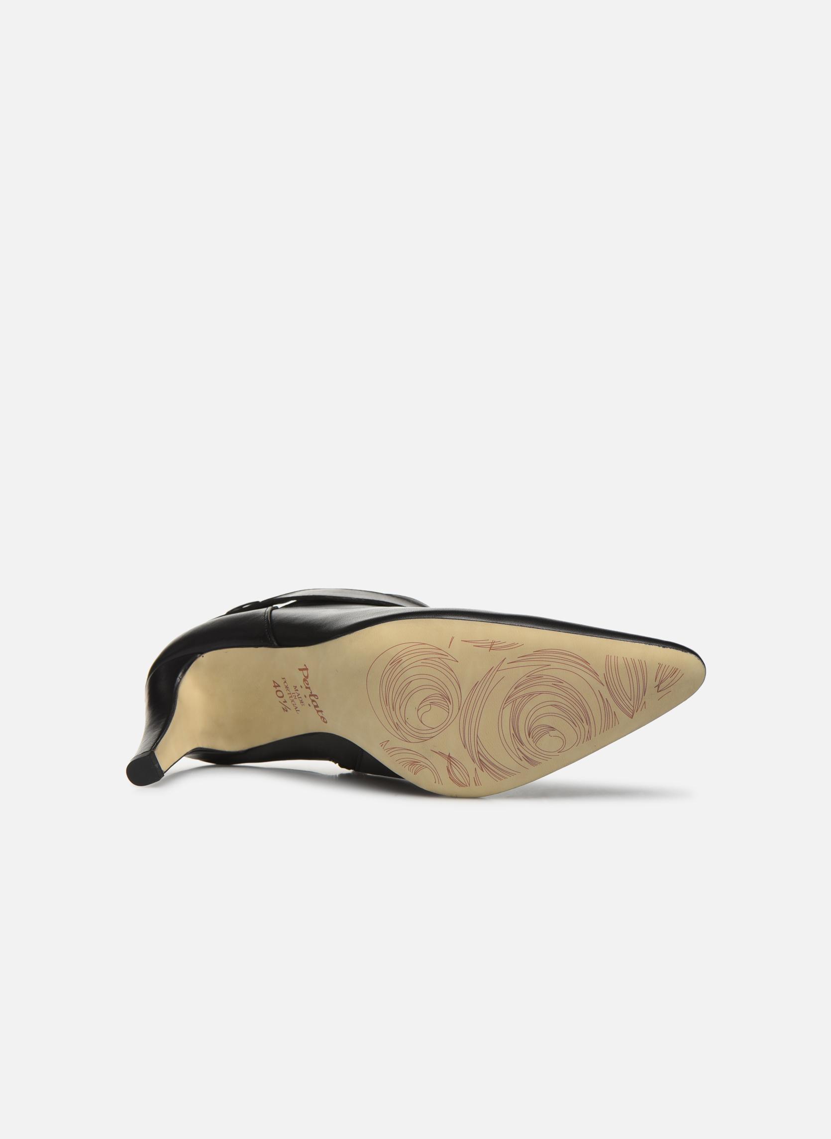 Bottines et boots Perlato Edel Noir vue haut