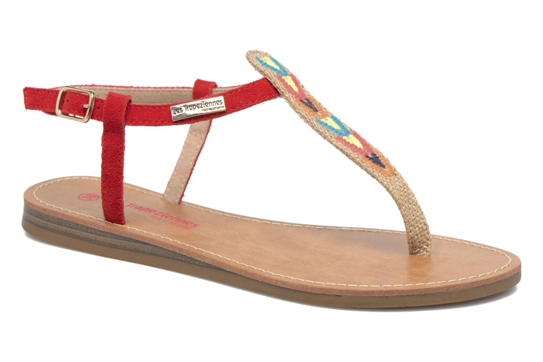 Grandes descuentos últimos zapatos Les Tropéziennes par M Belarbi Geronima (Rojo) - Sandalias Descuento
